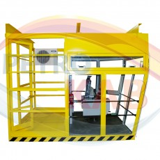 Cabin for foundry crane