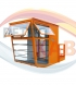 Operator cabins for gantry cranes